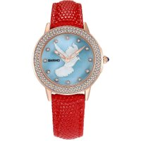 BARIHO Ladies Fashion Waterproof Pigeon PatternWatches Business Wristwatch