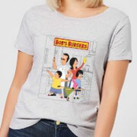Bobs Burgers Family Business Women's T-Shirt - Grey - M - Grey