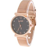 Quartz Business Casual Fashion Small Round Dial Alloy Wrist Watch